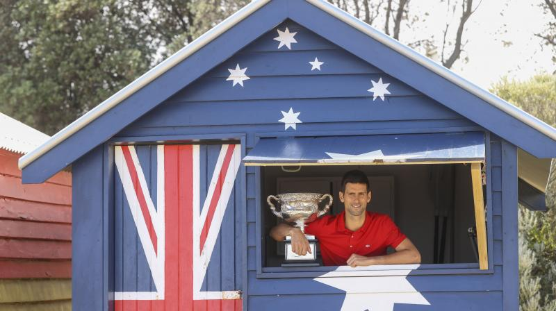 Novak Djokovic, one of the three knights of modern tennis, turned on his best game on the hardcourt at the Rod Laver arena he can call his own backyard for having won nine times and never having been beaten in an Australian Open final. (Photo: AP)