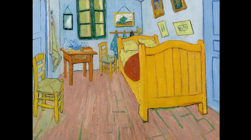 Vincent Van Gogh (1853-1890), Bedroom in Arles, 1888
