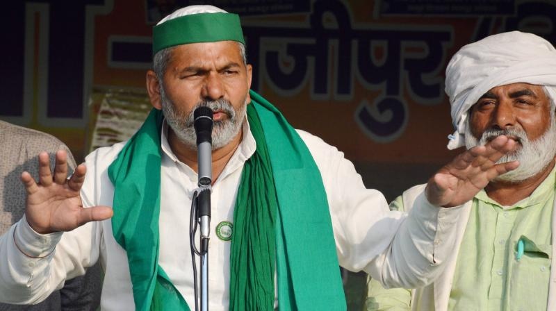 Tikait, the national spokesperson of the BKU and a prominent face of the farmers' protest, will begin the tour from March 1. (Photo: PTI)