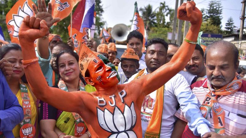 BJP general secretary Arun Singh announced the candidates' names and added that the political climate in all the poll-bound states favoured the saffron party. (Representational Photo: PTI)