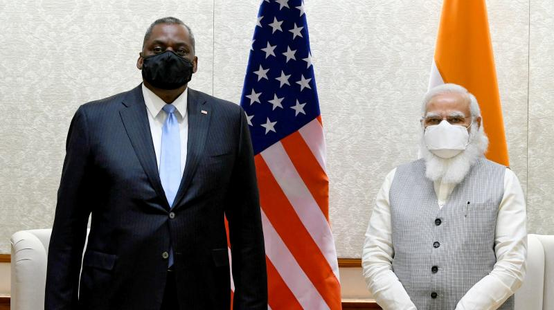 China has for long been a factor in relations between India and the United States. (Photo: PTI)