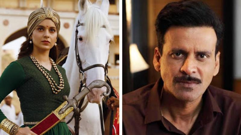 Bollywood actors Kangana Ranaut and Manoj Bajpayee along with Dhanush won top acting honours at the 67th National Film Awards.