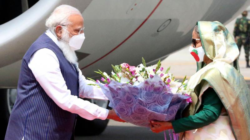 Whether people and voters will see through the BJP's cynical use of diplomacy for electoral gain or lap it up as realpolitik will be known only on May 2. (Photo: AFP)