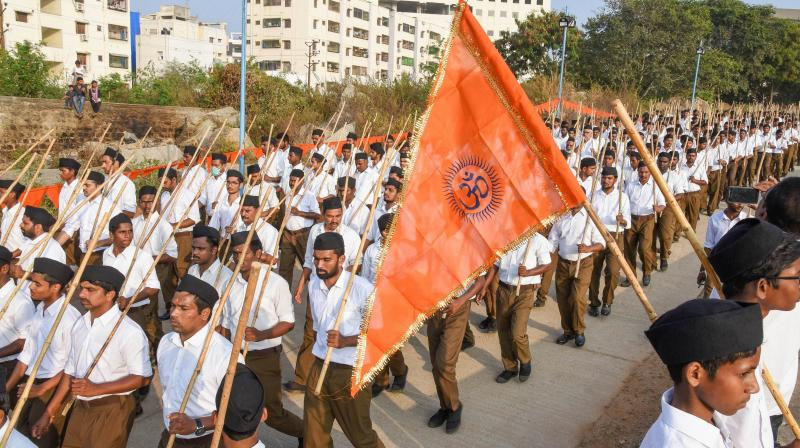 A new generation of RSS and BJP leaders are not inclined to update the Hindutva ideology because their basic presumption of glorifying a dead national past is their basic principle. (Photo:PTI)
