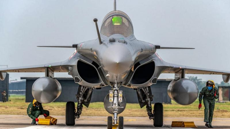 The report said as AFA inspectors combed through Dassault accounts in 2017, they raised an eyebrow when they came across an item expenditure costing 508,925 euros entered under the heading gifts to clients. (Photo: PTI)