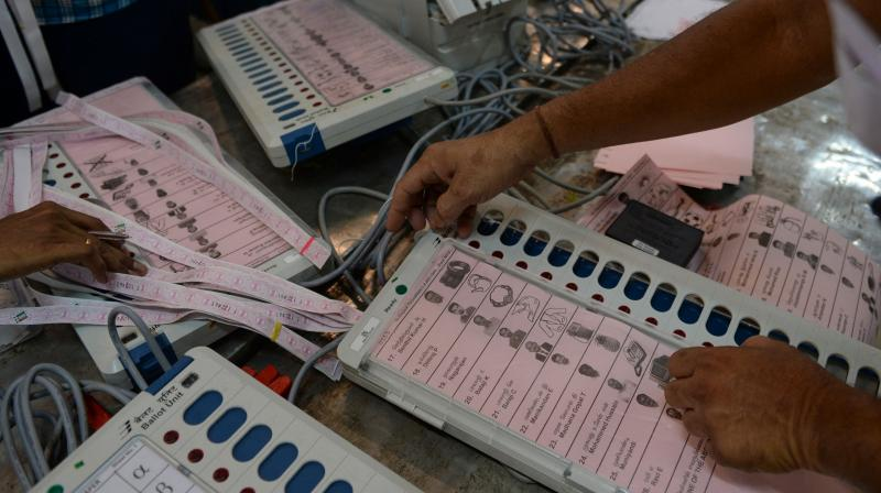 The Election Commission has found that 171 votes were cast at a booth where only 90 people were eligible to exercise their franchise in Halflong Assembly constituency of Dima Hasao district. (Representational Photo: AFP)