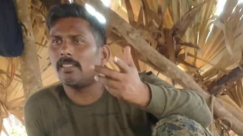 Manhas went missing after a joint team of the CRPF and two other security forces clashed with Maoists at the borders between Chhattisgarh's Sukma and Bijapur districts on Saturday. (Photo: ANI)