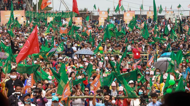 The electoral rallies with several lakh people that were held till very recently in Kerala, Assam and Tamil Nadu and which will continue to dominate the political horizon in West Bengal for the rest of this month. (Representational Photo: PTI)