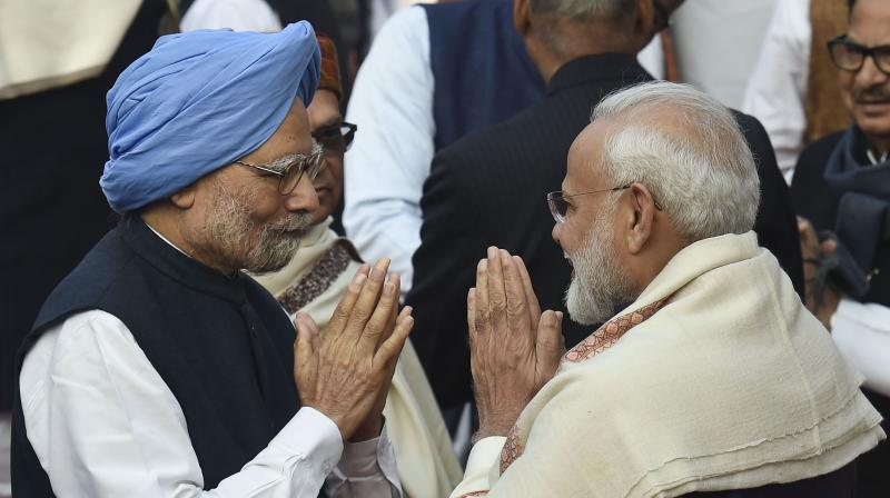 Former Prime Minister Manmohan Singh has, written a letter to Prime Minister Narendra Modi suggesting five ways on how to tackle the present pandemic situation. (Photo: PTI)