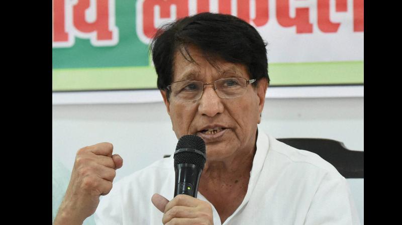 Rashtriya Lok Dal leader Ch Ajit Singh. (Photo: PTI)
