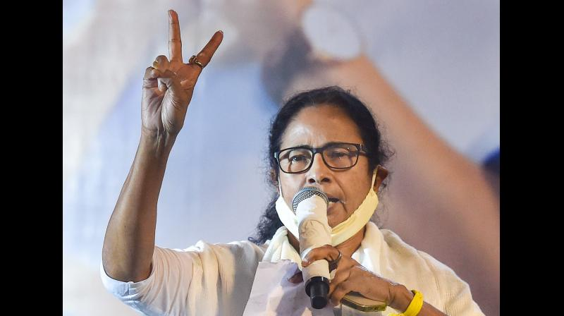 The Trinamul Congress supremo also asked the BJP not to create unrest and accept the fact that it had lost the election. — PTI