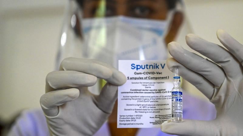 Russia started human trials of Sputnik Light in January, and the studies are still ongoing, according to official records. (Photo: AFP)
