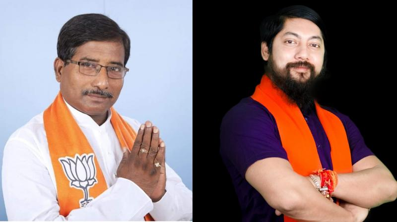 Nishith Pramanik is an MP of Coochbehar in North Bengal, Jagannath Sarkar is an MP of Ranaghat in Nadia.