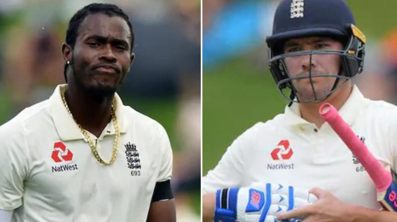 England faced a double injury blow ahead of the second test against South Africa as Rory Burns and Jofra Archer were declared doubtful for Friday's start at Newlands. (Photo:AFP/Twitter)