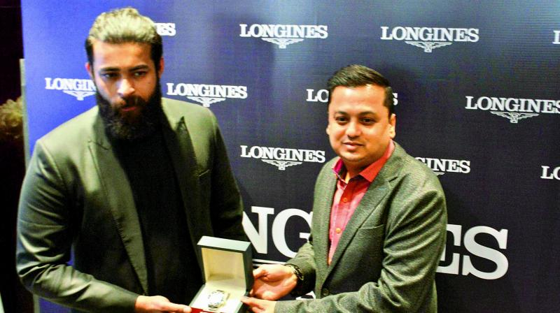 Swiss watch brand Longines showcased its HydroConquest collection in the presence of actor Varun Tej at the Longines Boutique located at Jubilee Hills.