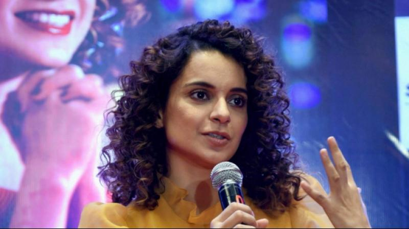 Bollywood actress Kangana Ranaut. (PTI Photo)