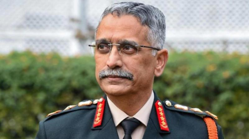 Army Chief General Manoj Mukund Naravane is visiting Leh to review the ongoing security situation. (PTI Photo)