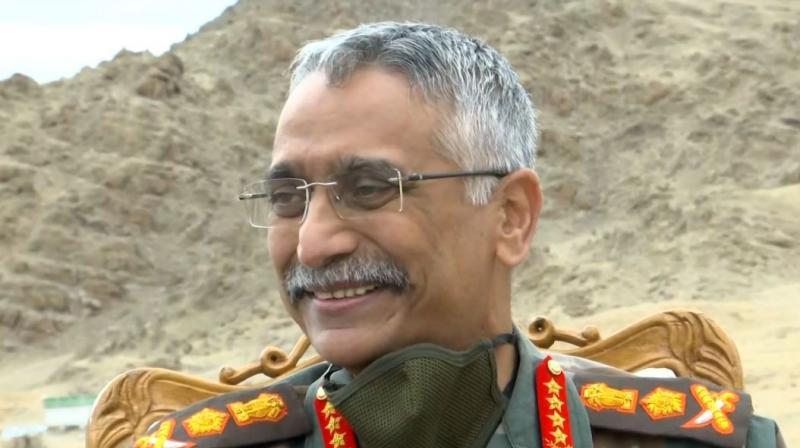 Army Chief General MM Naravane. (ANI Photo)