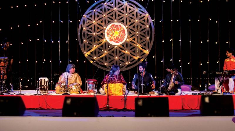 Pushkar has a link with sufism, spirituality and music. The music experience is carefully curated at the Sacred Pushkar that includes Carnatic music, Western music, Sufi, and Bhakti music among others.