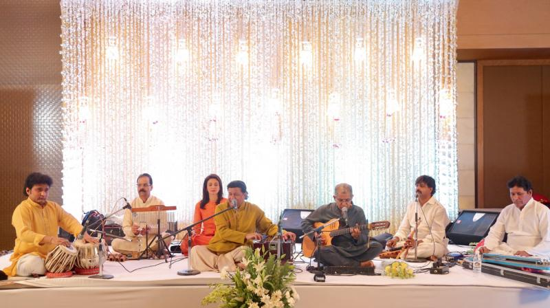 Anup Jalota in performance. (Photo: Anup Jalota)