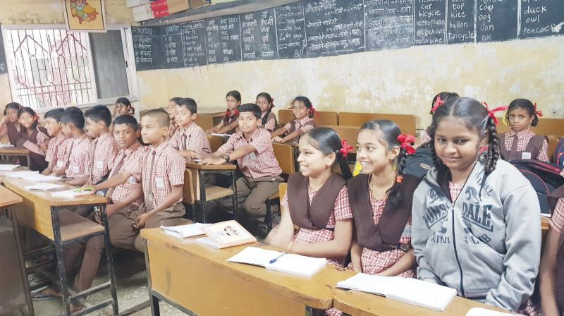 According to ASER 2016, 27 per cent children in Class 8 are unable to read a Class 2 level textbook and 57 per cent are unable to do simple division that is taught in Class 4. (Representational image)