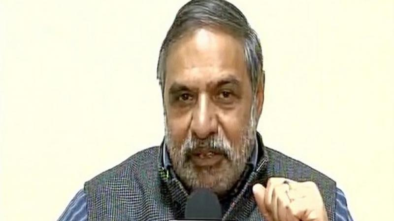 Congress leader Anand Sharma. (Photo: Twitter | ANI)
