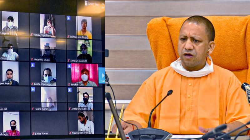 File image of Uttar Pradesh chief minister Yogi Adityanath. (PTI)