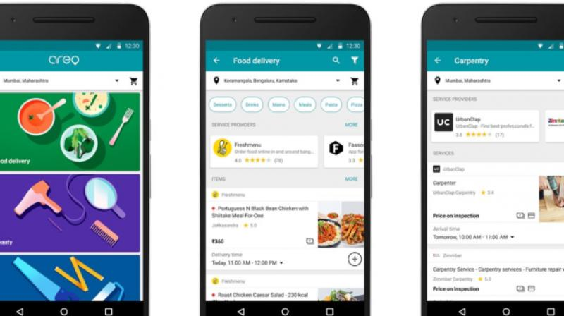 Google Areo is presently available in Bengaluru and Mumbai, but will be covering other major cities soon.