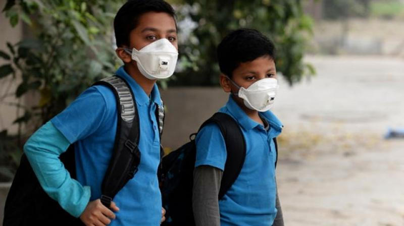 Delhi's air quality typically worsens ahead of the onset of winter as cooler air traps pollutants near the ground, preventing them from dispersing into the atmosphere, a phenomenon known as inversion. (Photo: AFP)
