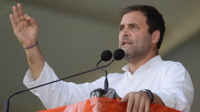 Congress chief Rahul Gandhi (Photo: @INCIndia/Twitter)