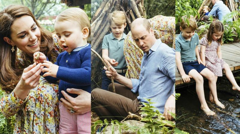 The Cambridges reconnect with nature