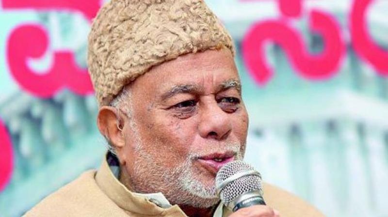 Karnataka Congress leader Jaffer Sharief. (Photo: ANI)