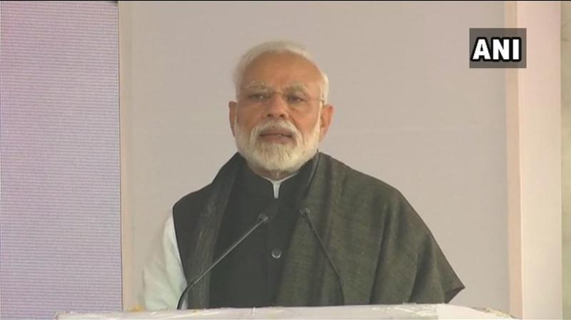 If our neighbour, who is totally isolated in the world, thinks it can destabilise India through such tactics and conspiracies, then it is making a big mistake, said Prime Minister Narendra Modi. (Photo: ANI)