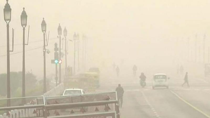 The mercury came down by several degrees on Tuesday after rain continued to lash parts of Delhi. (Photo: ANI)