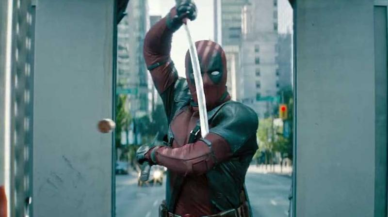 A still from 'Deadpool 2'.