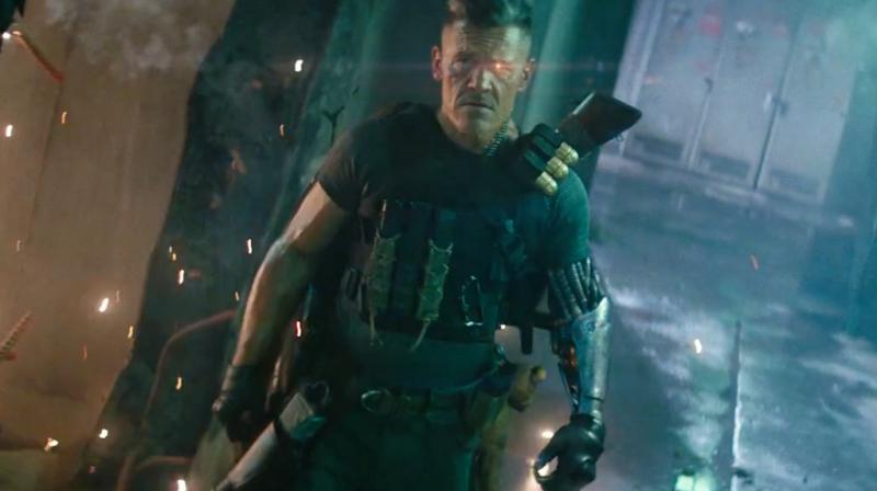 Josh Brolin in the still from 'Deadpool 2'.