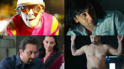 Screengrabs from 'Sanju' trailer. (Courtesy: YouTube)