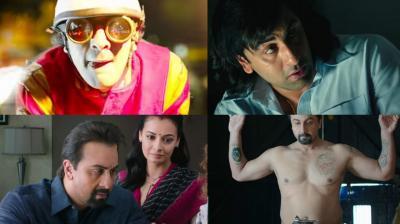 Screengrabs from 'Sanju' trailer. (Courtesy: YouTube)