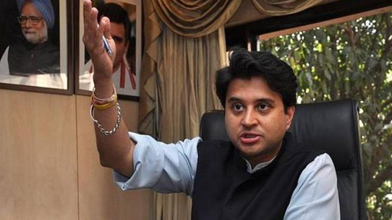 Senior Congress leader Jyotiraditya Scindia (Photo: PTI)