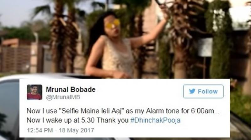 After Daaru last year, the social media sensation's latest song Selfie Maine Le Li Aaj has got over one millions views. (Photo: Youtube)