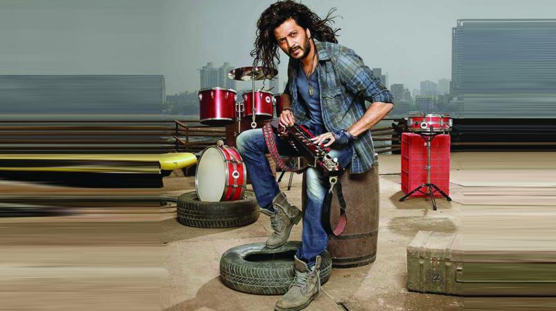 Riteish Deshmukh played a banjo exponent in the film Banjo