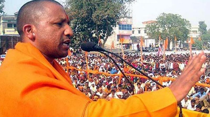 BJP MP Yogi Adityanath (Photo: PTI/File)