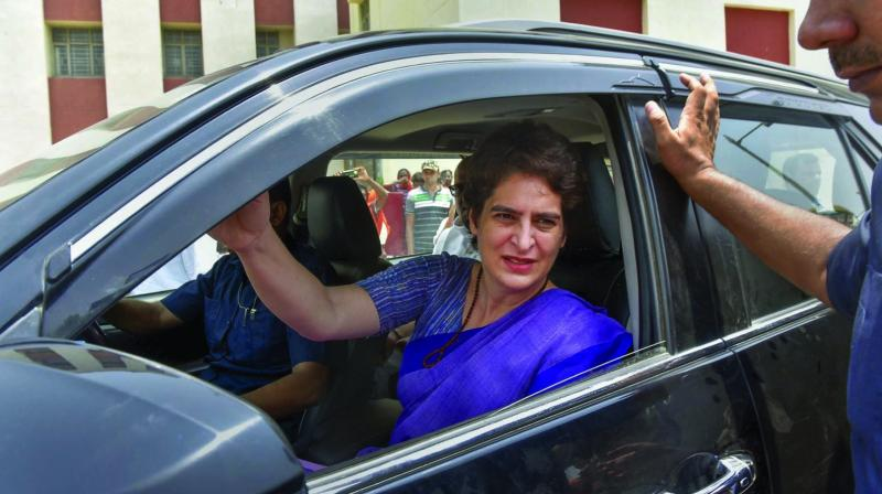 Congress leader Priyanka Gandhi Vadra. (Photo: PTI)