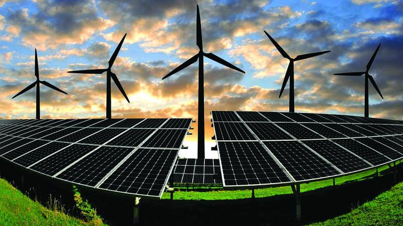 India's renewable power capacity soared by almost 150 per cent in the last 5 years to 77.6 GW.