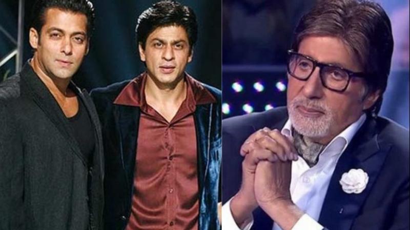 Shah Rukh Khan had hosted Amitabh Bachchan's 'Kaun Banega Crorepati' briefly when Salman Khan was a guest along with Katrina Kaif.