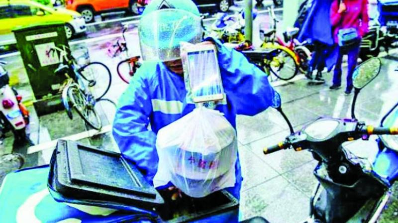 According to the officials of AHAR, nearly 40 per cent of their business depends on parcels.