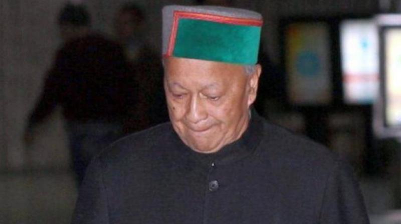 Himachal Pradesh Chief Minister Virbhadra Singh. (Photo: File)