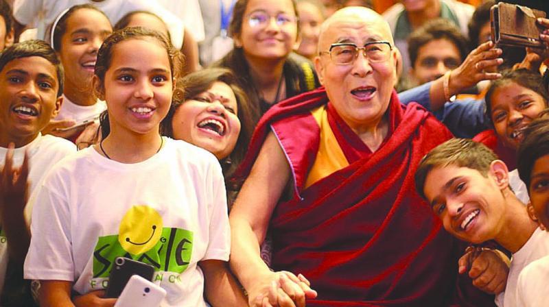 India, China must live side by side, says Dalai Lama