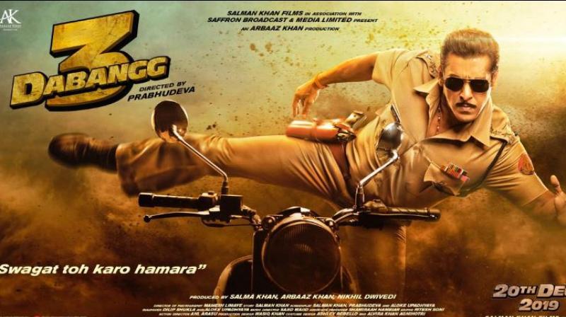 Dabangg 3 poster.