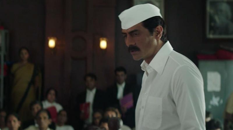 Arjun Rampal as Arun Gawli in 'Daddy.'
